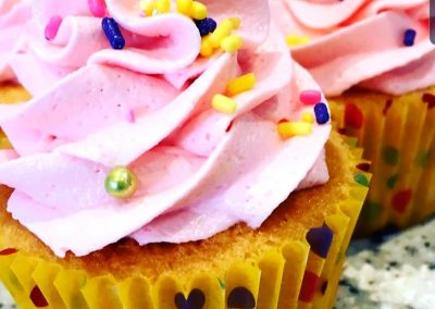 delicious pink cupcakes MADE TO ORDER